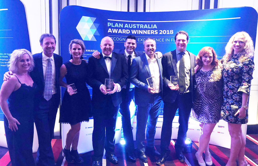 Launch Finance win National Business of the Year at PLAN Awards